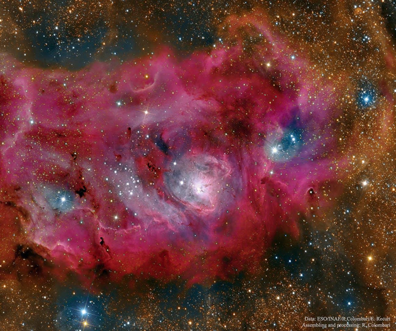 The Lagoon Nebula is high definition glory.