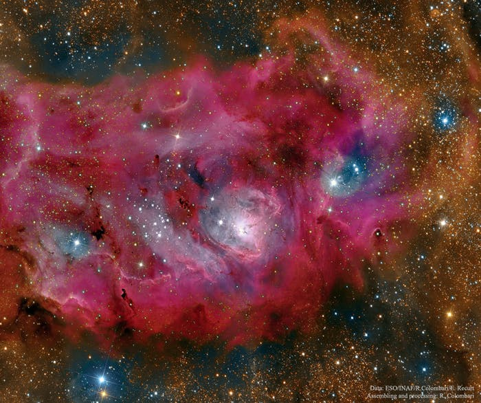 The Lagoon Nebula is high definition glory.