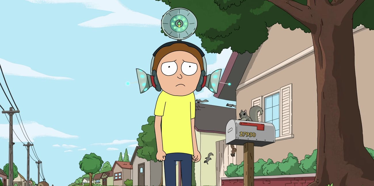 Rick and morty morty's mind blowers
