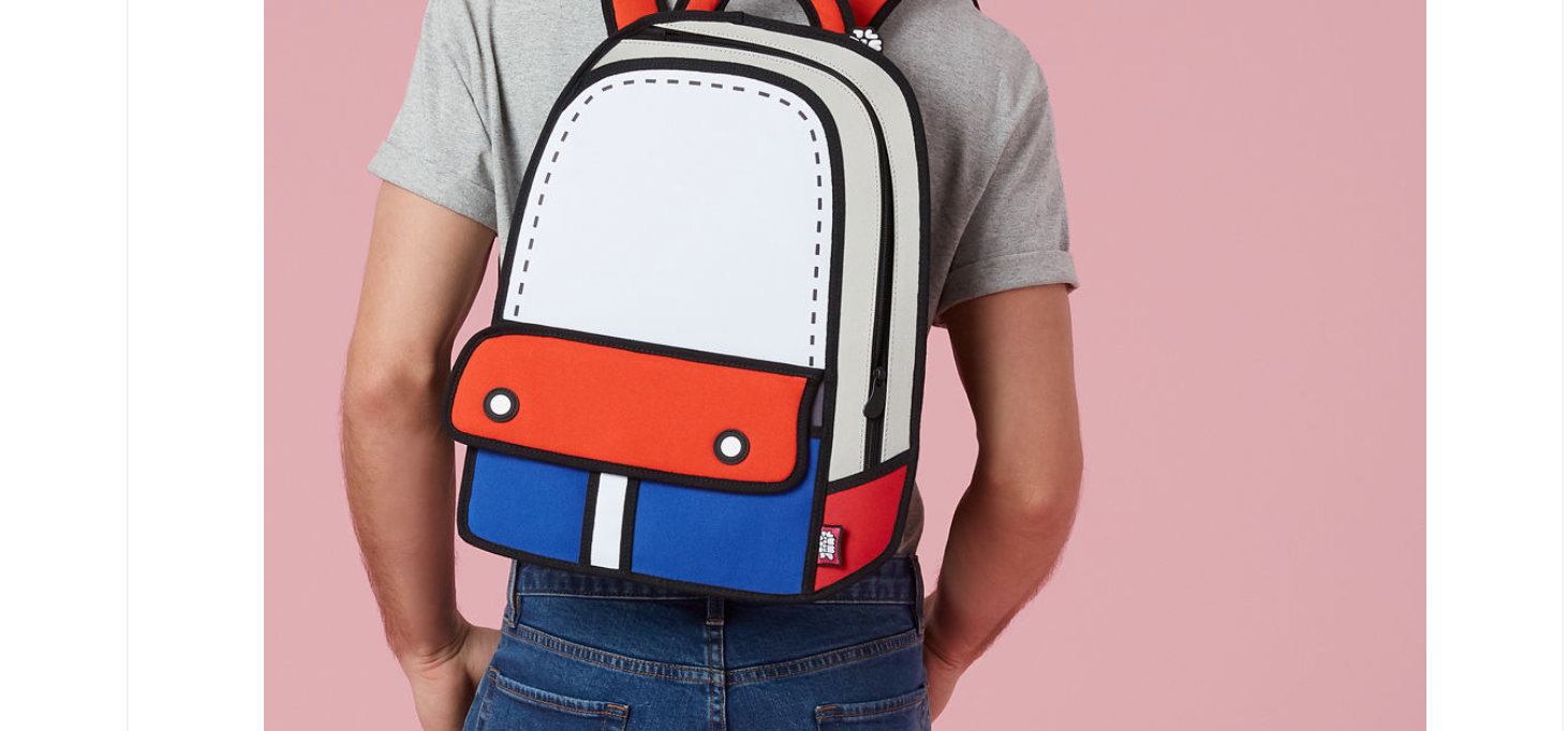 Live Your Best Cartoon Life With This Amazingly Weird Eye-Fooling Bag