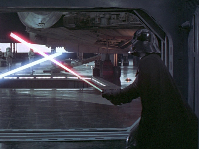 Darth Vader's lightsaber
