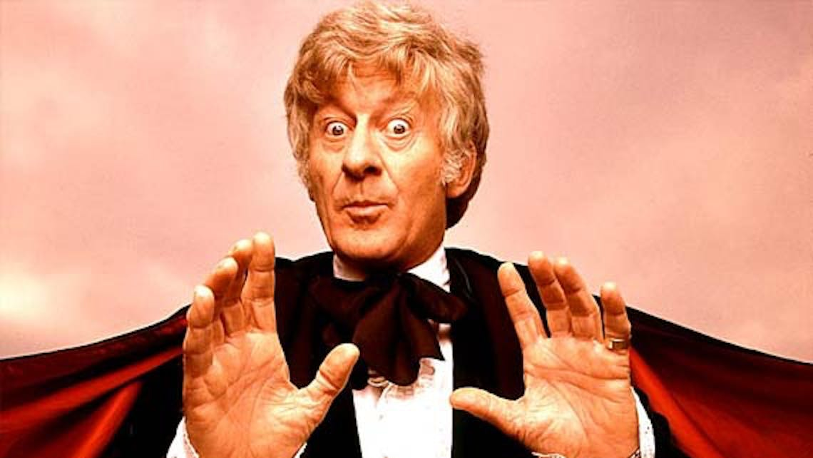 Jon Pertwee as the 3rd Doctor
