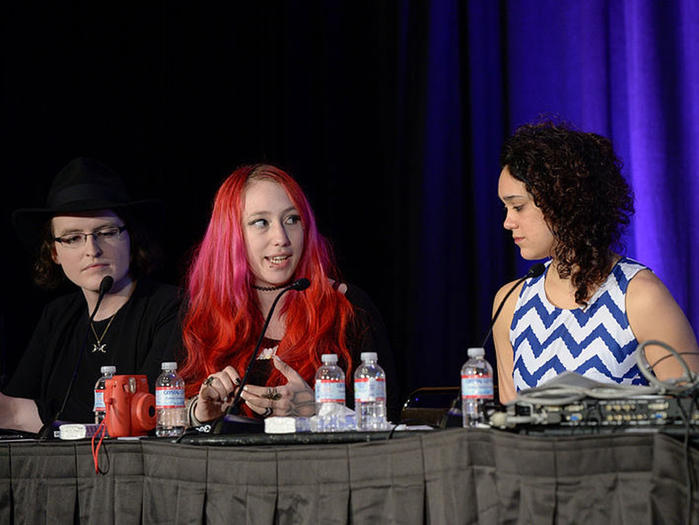 Zoe Quinn at the Game Developers Conference 2016