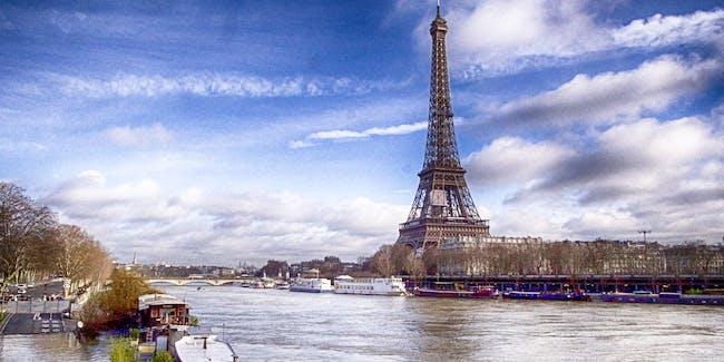 Flood in Paris 2018