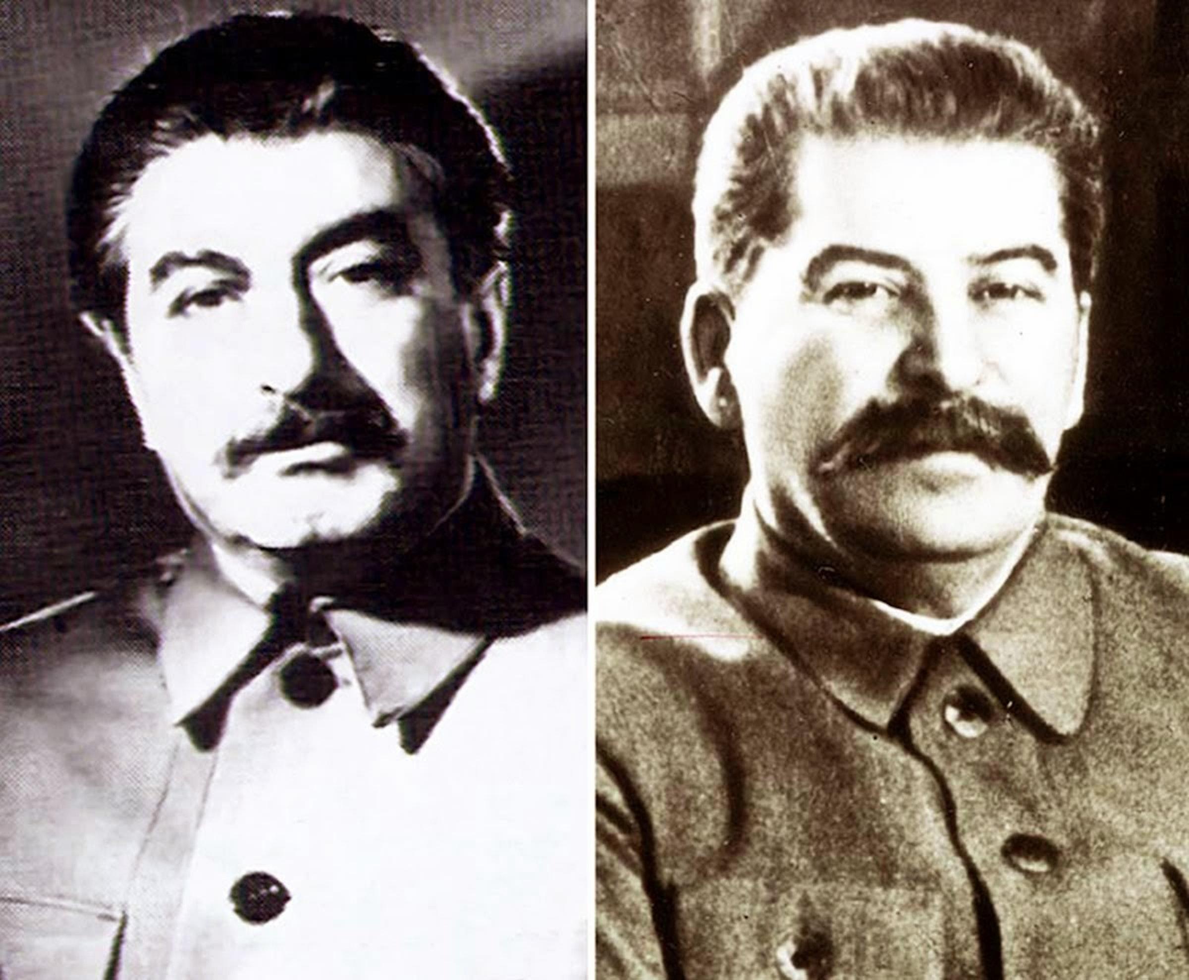 Felix Dadaev and Joseph Stalin.