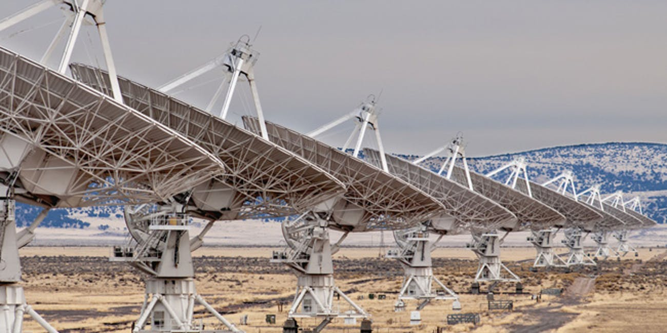 The Very Large Array in New Mexico has long been associated with the search for extraterrestrial intelligence, or SETI