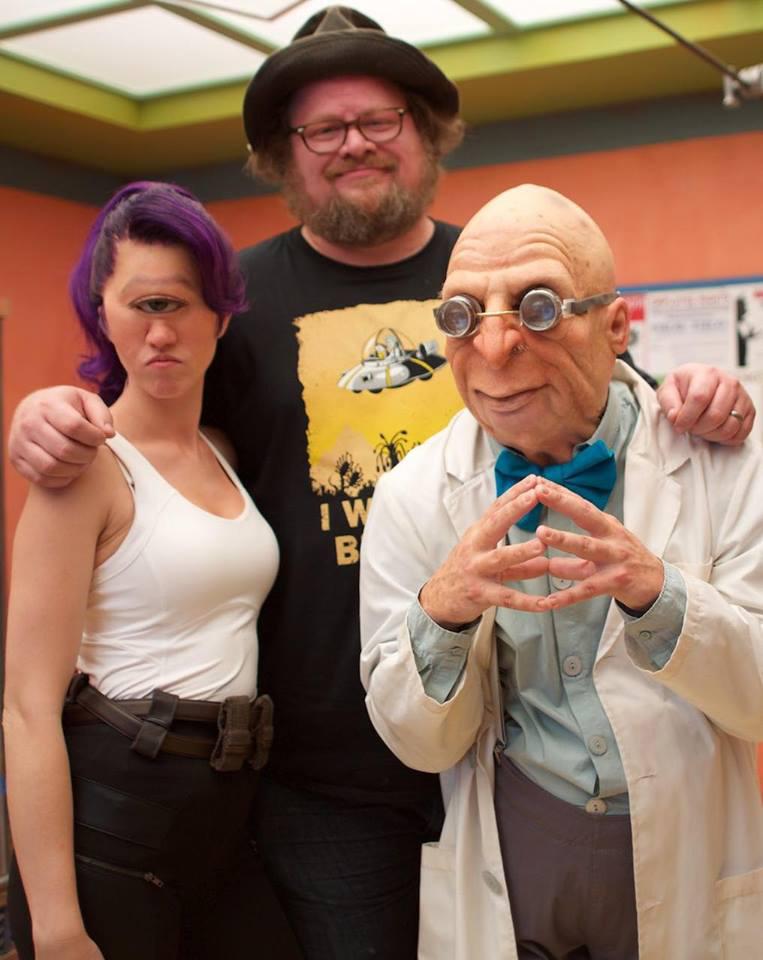 Katie Lanigan, Dan Lanigan, and Andy Klimczak