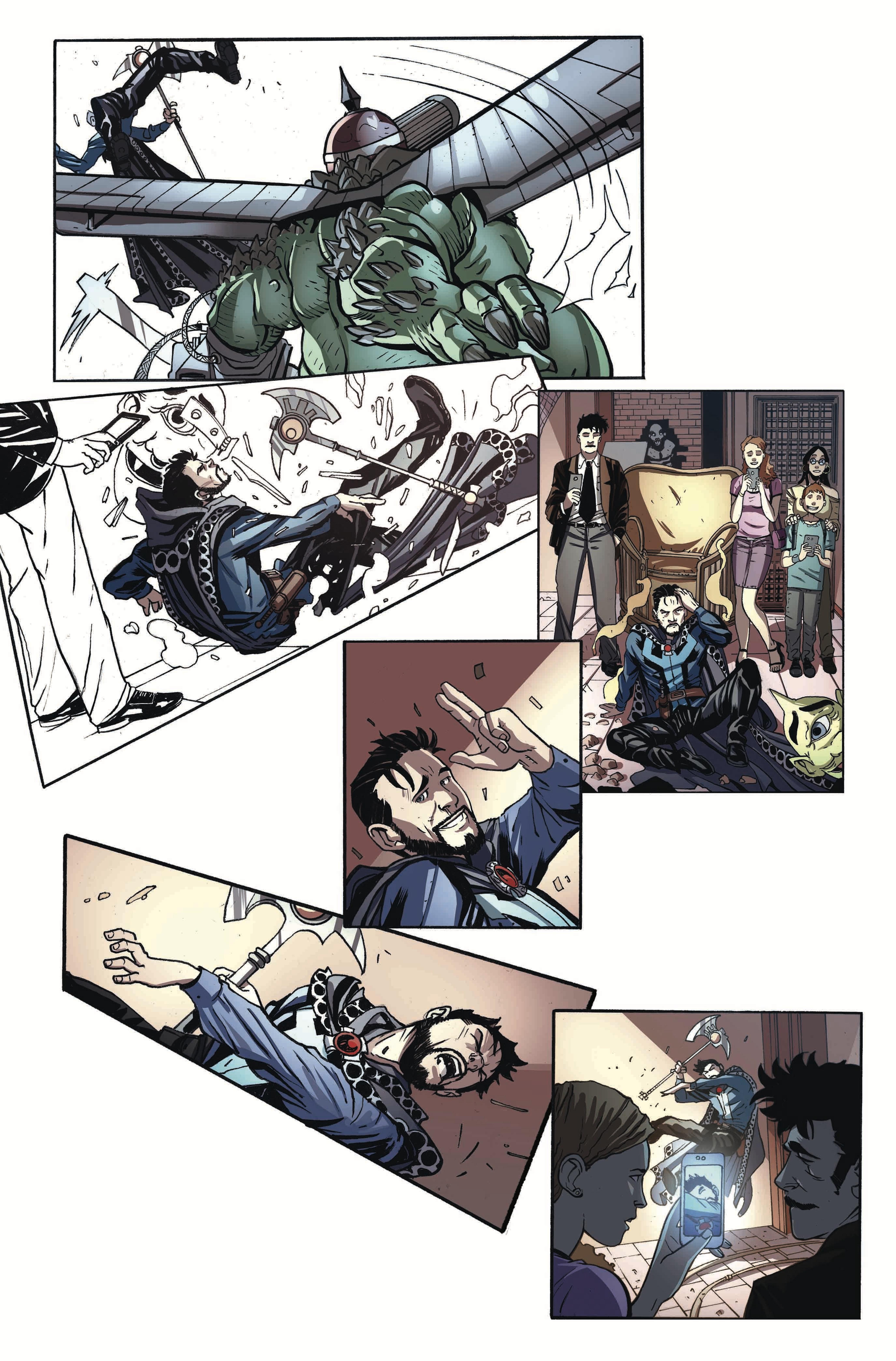Preview of 'Doctor Strange/Punisher' #1