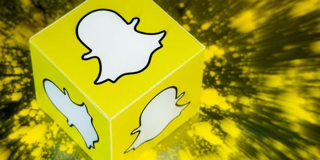 Dynamic Snapchat Logo/Icon