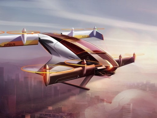 Airbus Hopes to Test Autonomous Flying Car This Year
