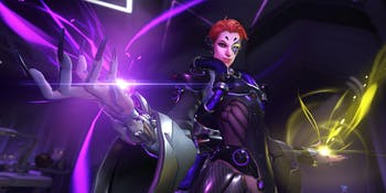 Moira makes for a badass new addition to Support characters in 'Overwatch'.