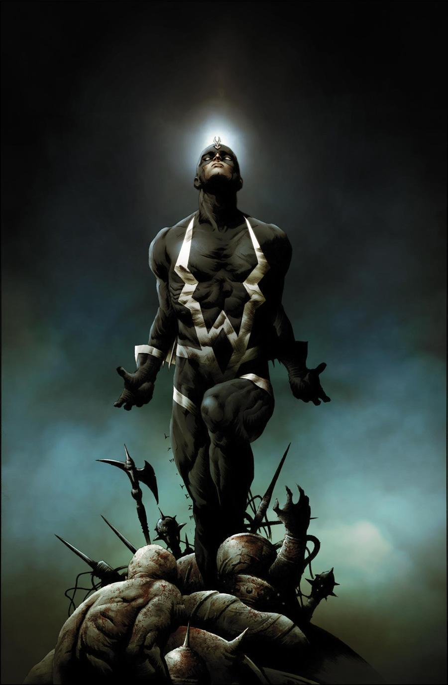 Black Bolt, king of the Inhumans