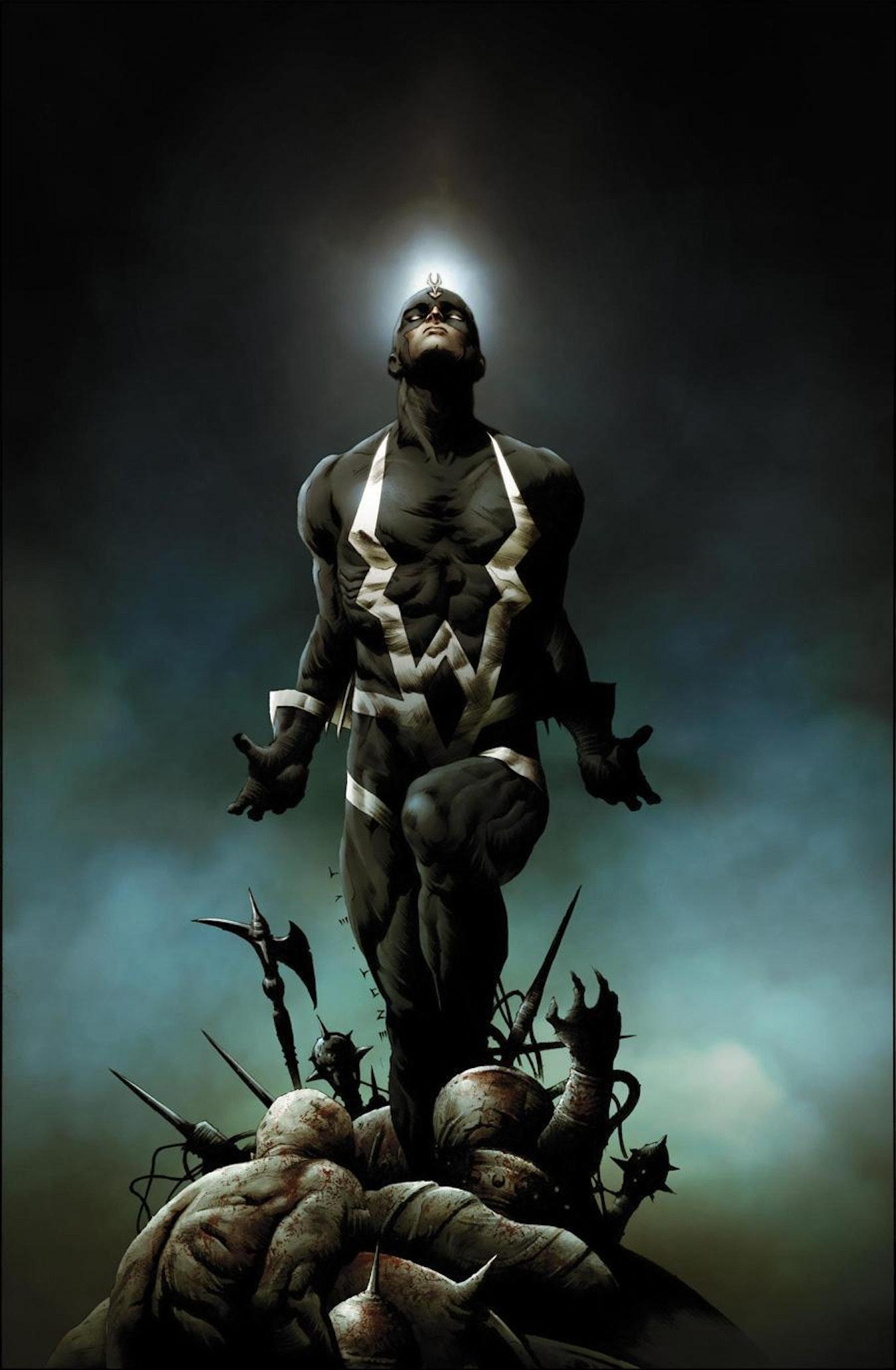 Black Bolt, king of the Inhumans