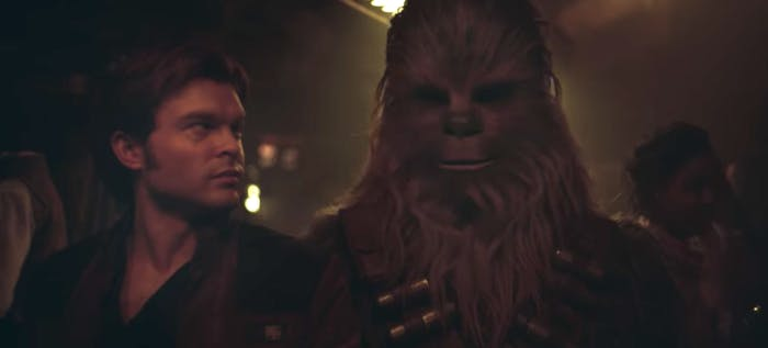 Han and Chewie in 'Solo'