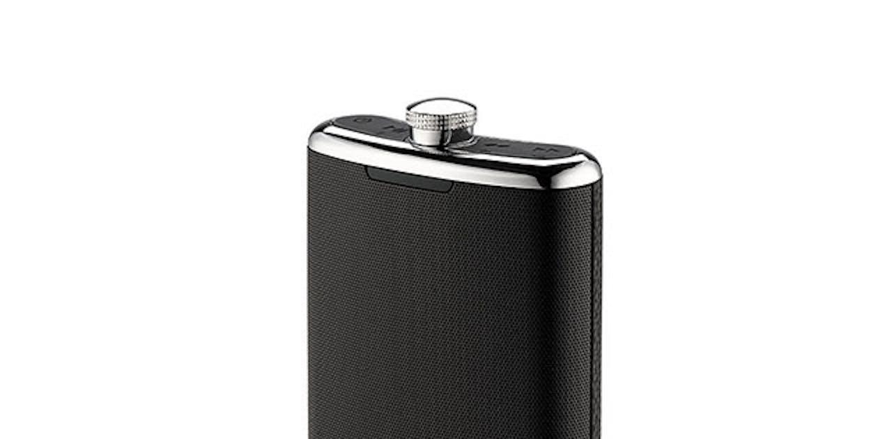 iHome Flask Shaped Bluetooth Speaker