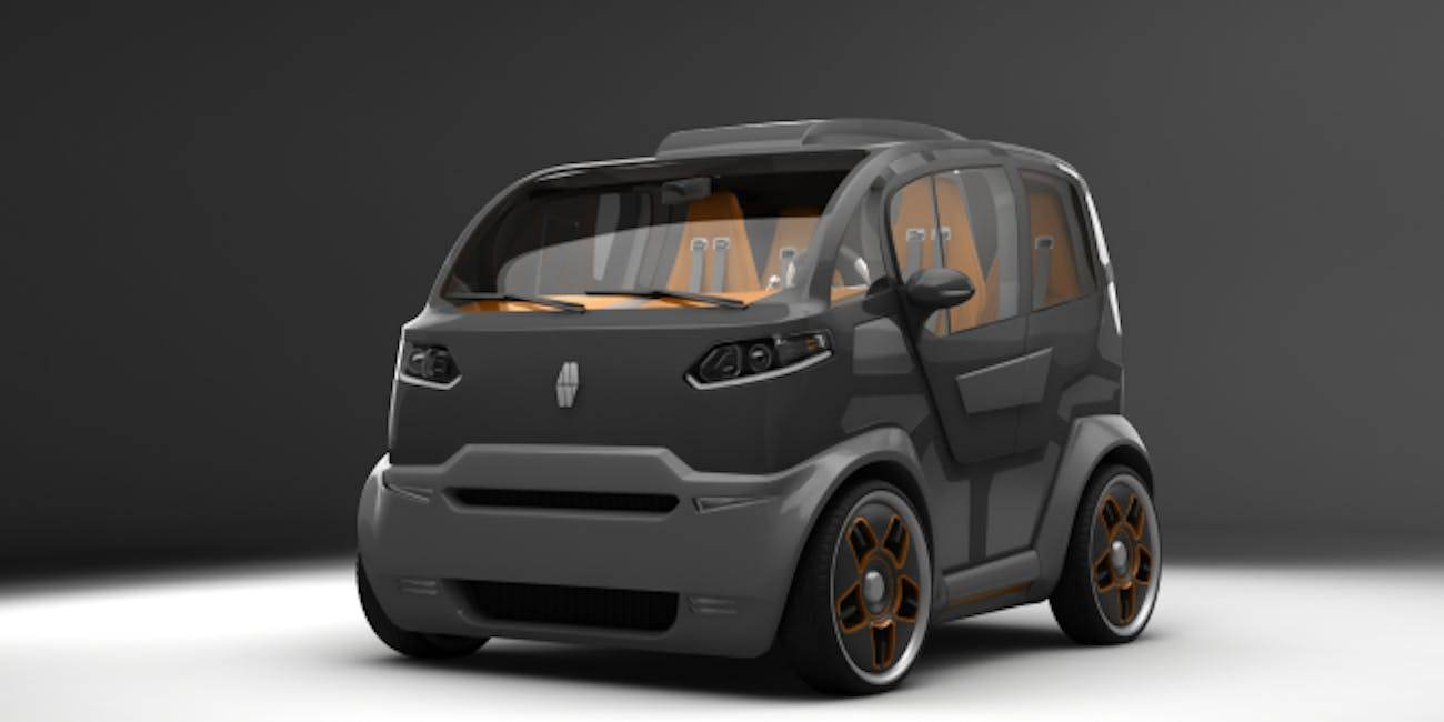 Mirrow S Russian Tiny Urban Transport Is A Food Truck An Suv And Smart Car