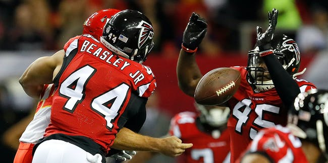 super bowl vic beasley tom brady sack tackle physics