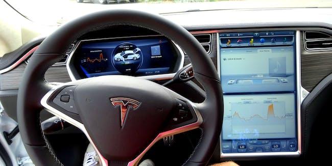 Proefrit testdrive Tesla Model S