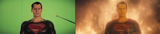'Batman v Superman' behind the scenes effects video.