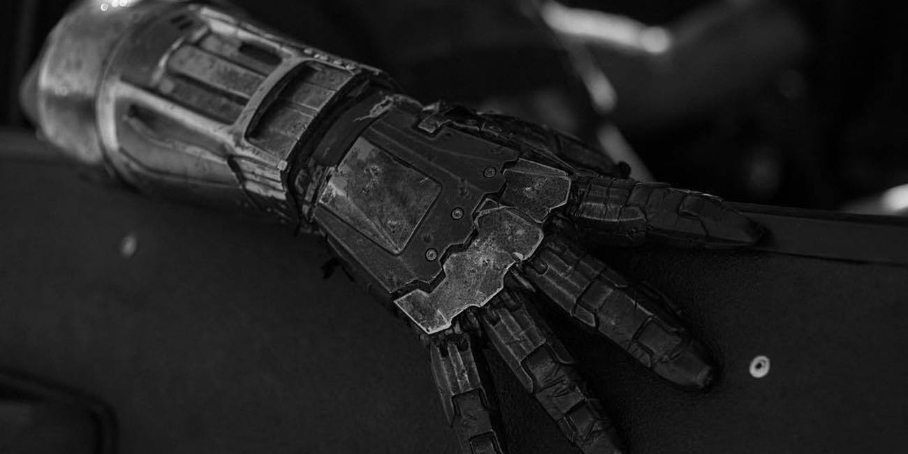 Logan Reaver Cyborg Arm