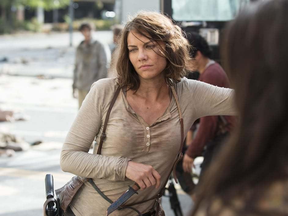 Negan Almost Killed Maggie in 'Walking Dead' Premiere