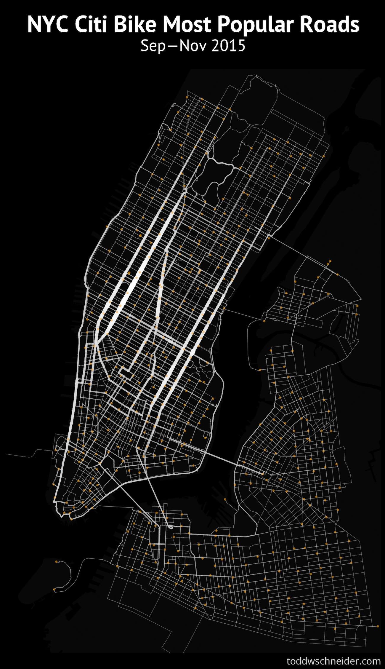 Citi Bike Nyc Map on