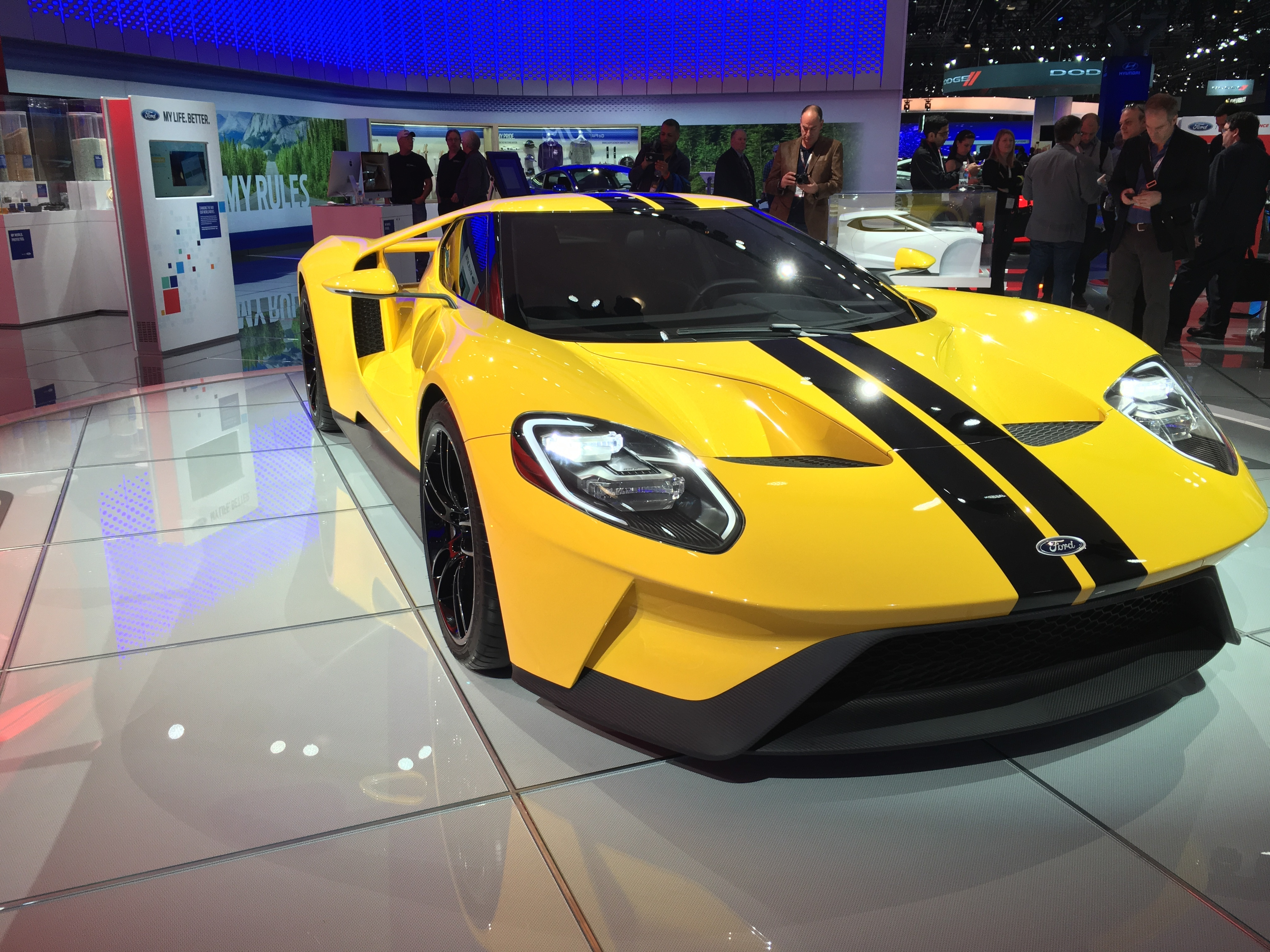 Ford's GT does not drive itself.