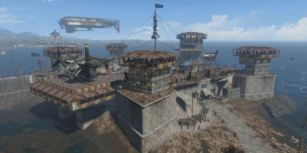 In Defense of 'Fallout 4' Building