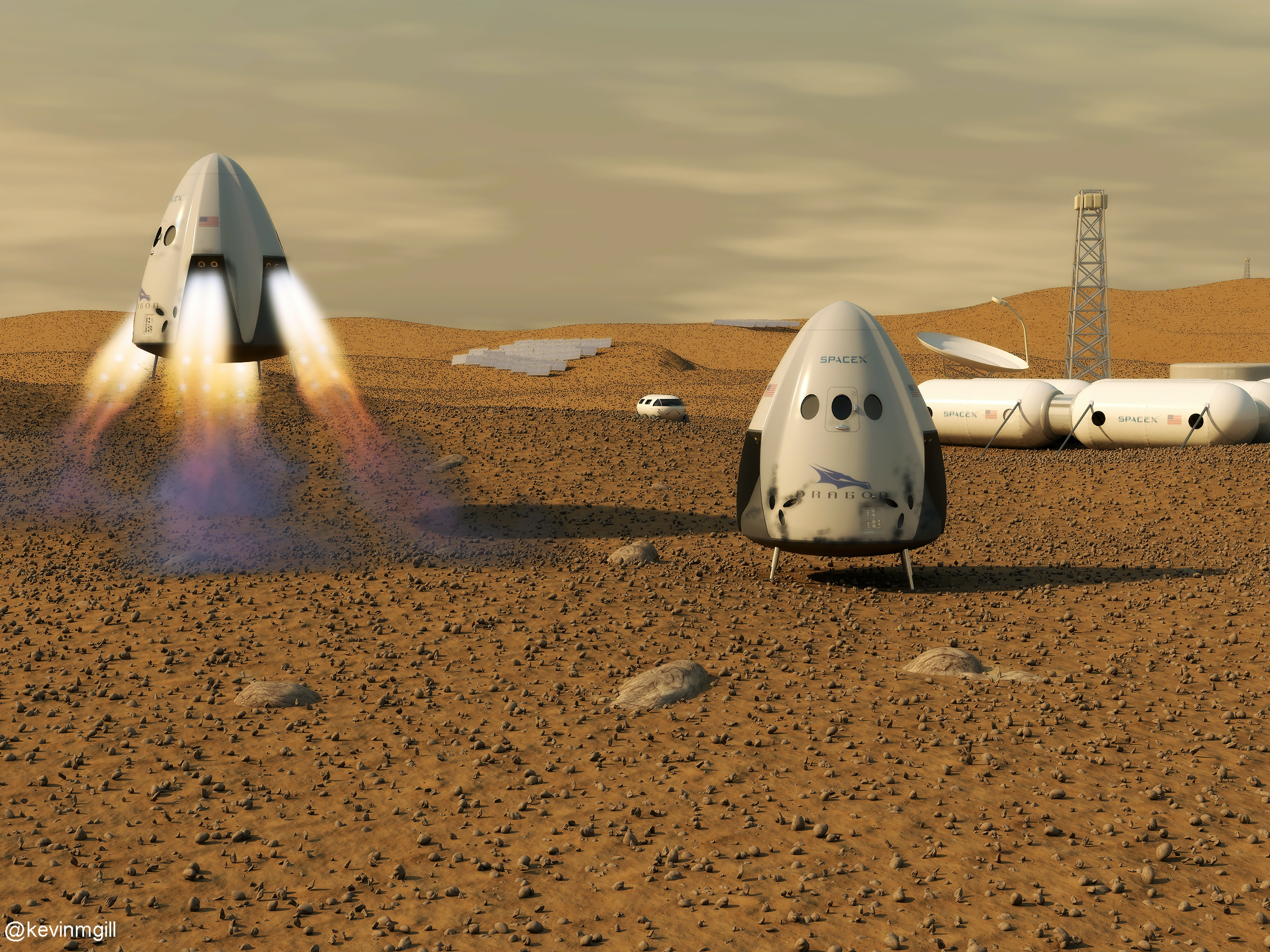 What SpaceX Needs to Accomplish Before Colonizing Mars