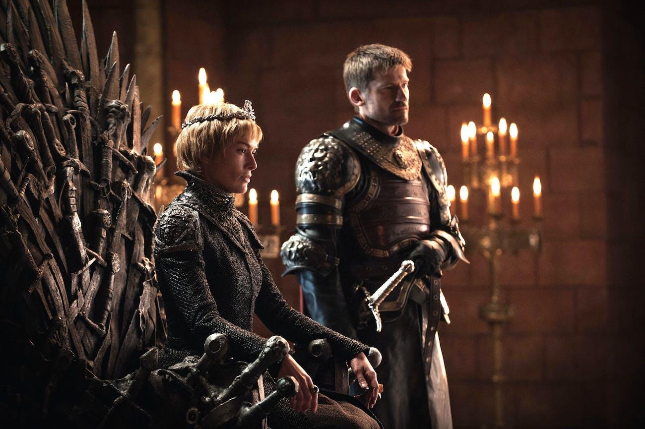Lena Headey and Nikolaj Coster-Waldau in 'Game of Thrones' Season 7