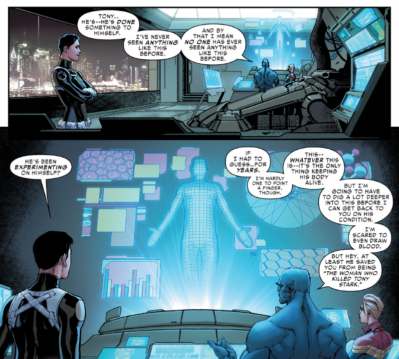 Iron Man in Civil War II