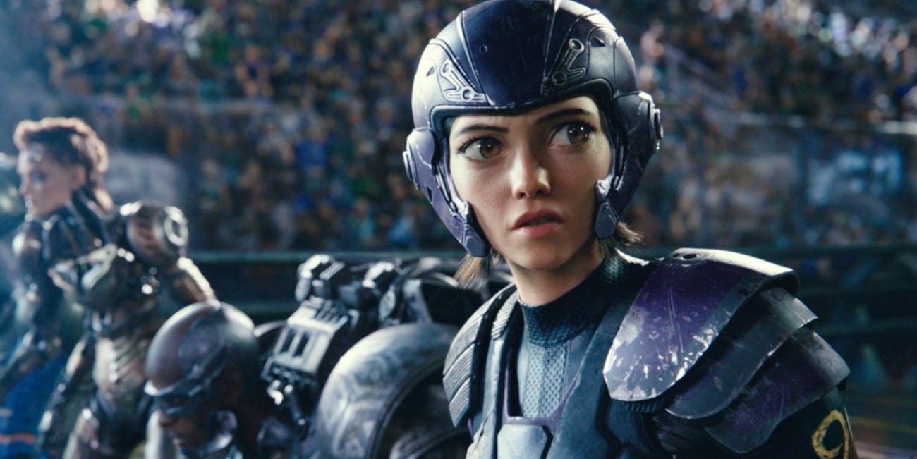 Alita Battle Angel Rosa Salazar Motorball