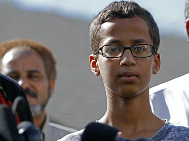 """""""Clock Boy"""" Ahmed Mohamed's Entire World Changed One Year Ago"""
