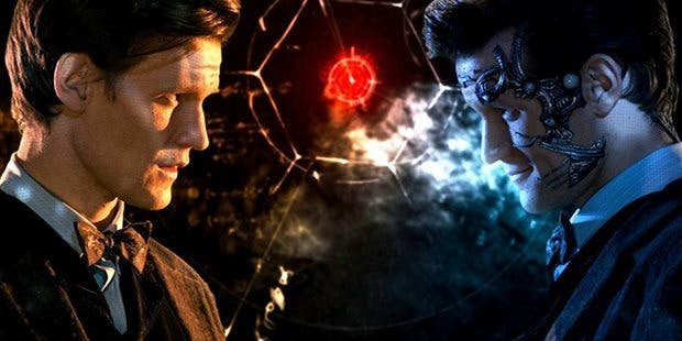 "Matt Smith as the ""cyber Doctor"" in Neil Gaiman's ""Nightmare in Silver"" on 'Doctor Who'"