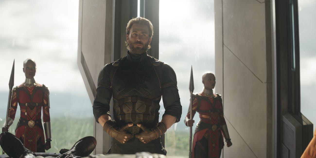 Chris Evans Captain America Avengers 4