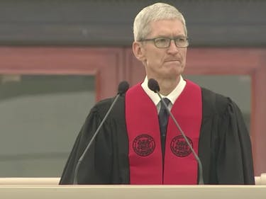 Apple CEO Tim Cook at MIT