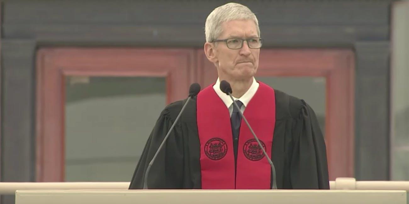 Apple CEO Tim Cook at MIT
