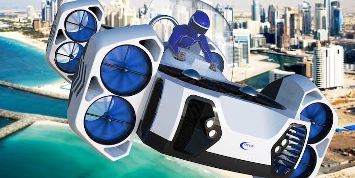 Neva Aerospace flying car Europe
