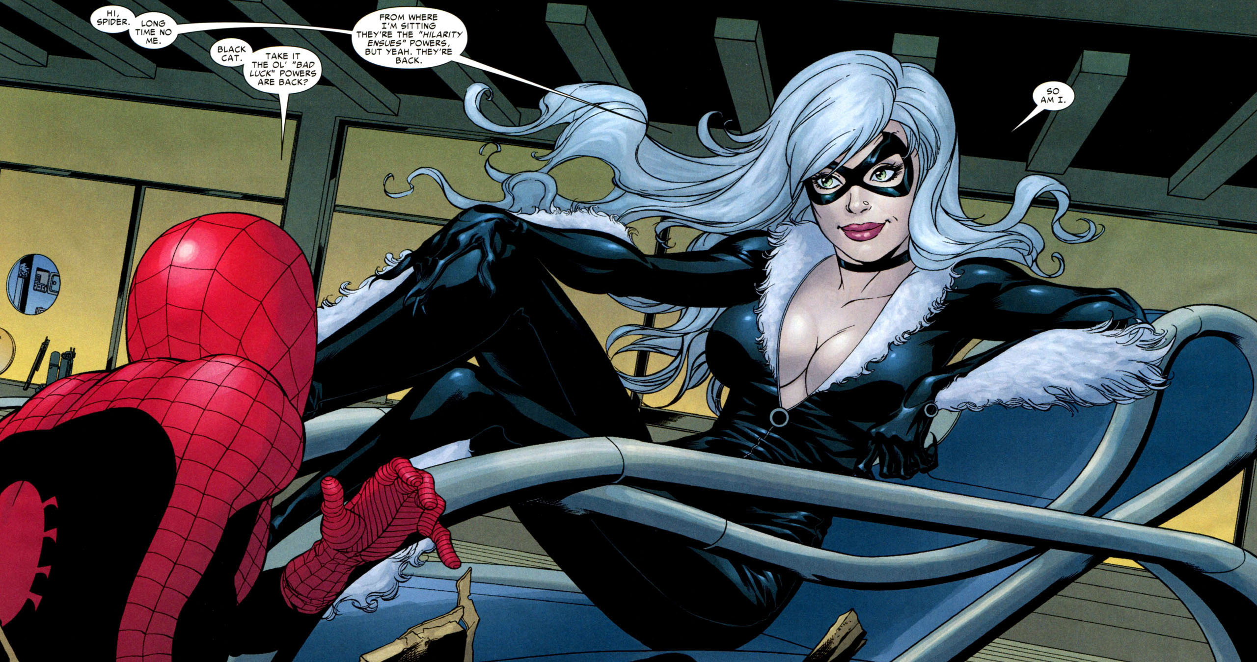 Black Cat's going to leap onto the big screen.