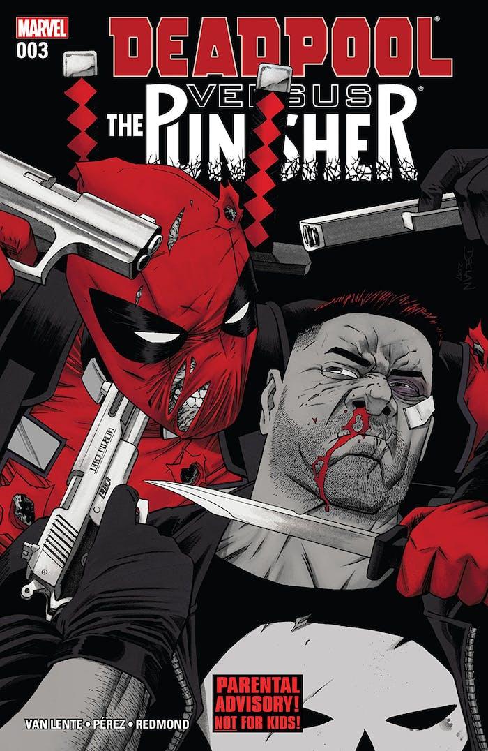 The Punisher vs Deadpool