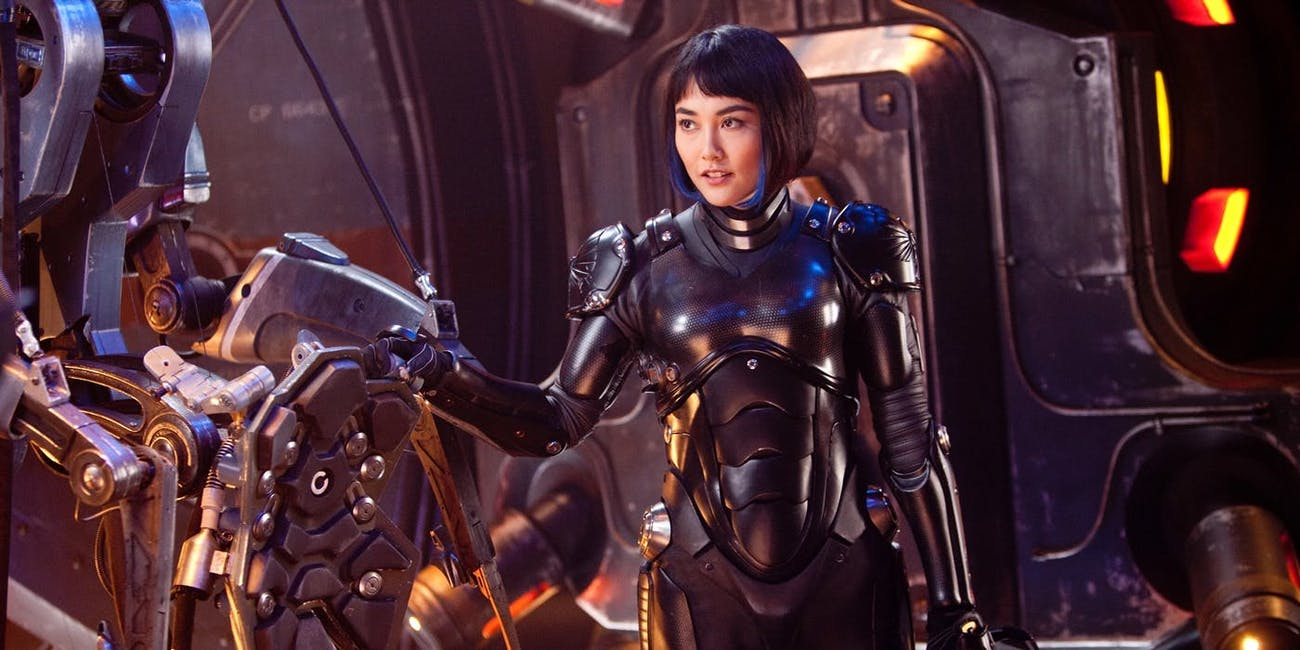 Mako Mori in 'Pacific Rim'