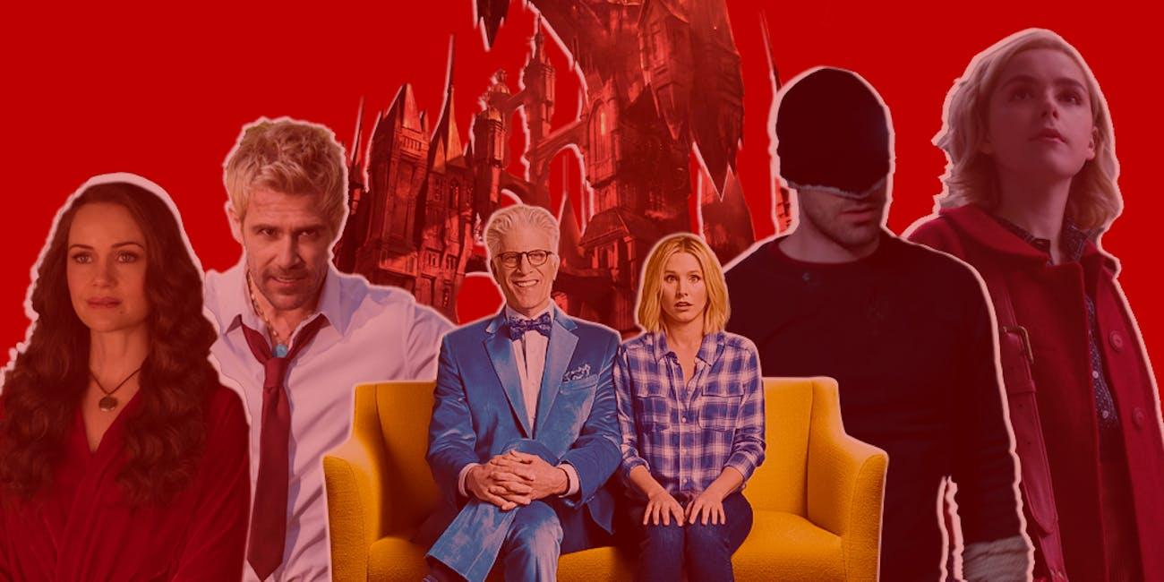 Netflix TV 2018 Horror Daredevil Castlevania