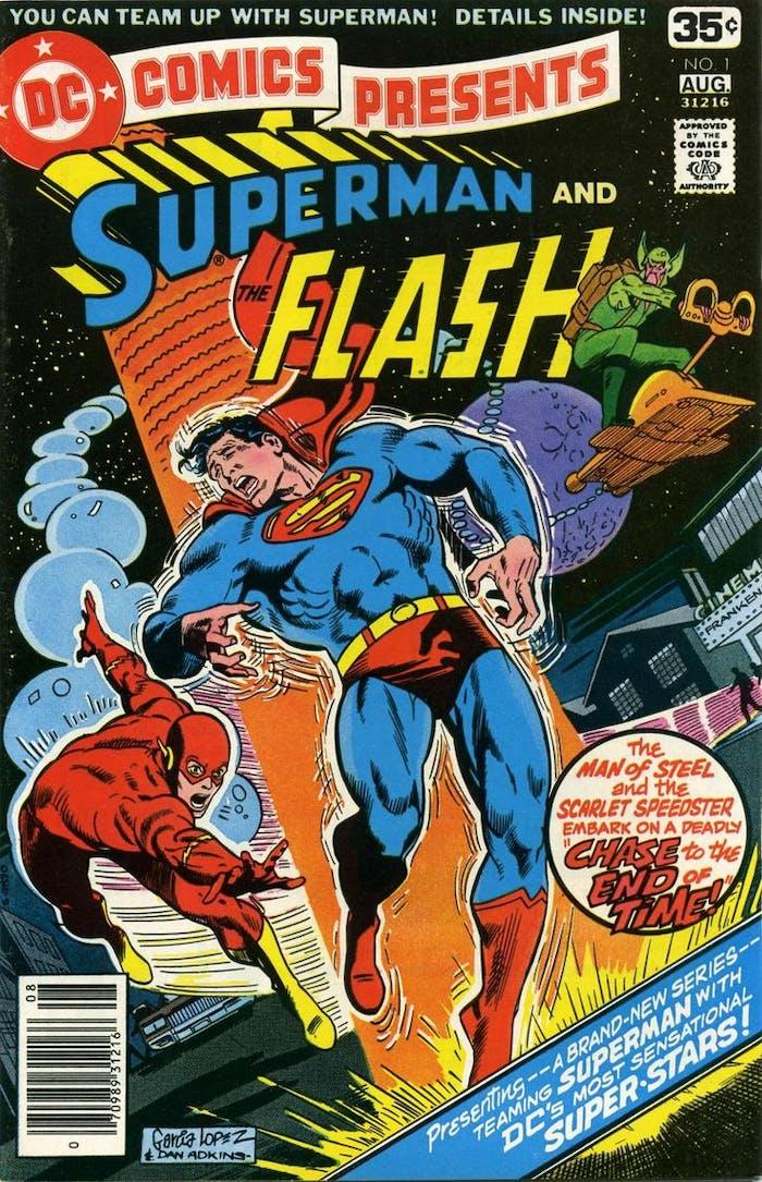 Justice League Superman The Flash