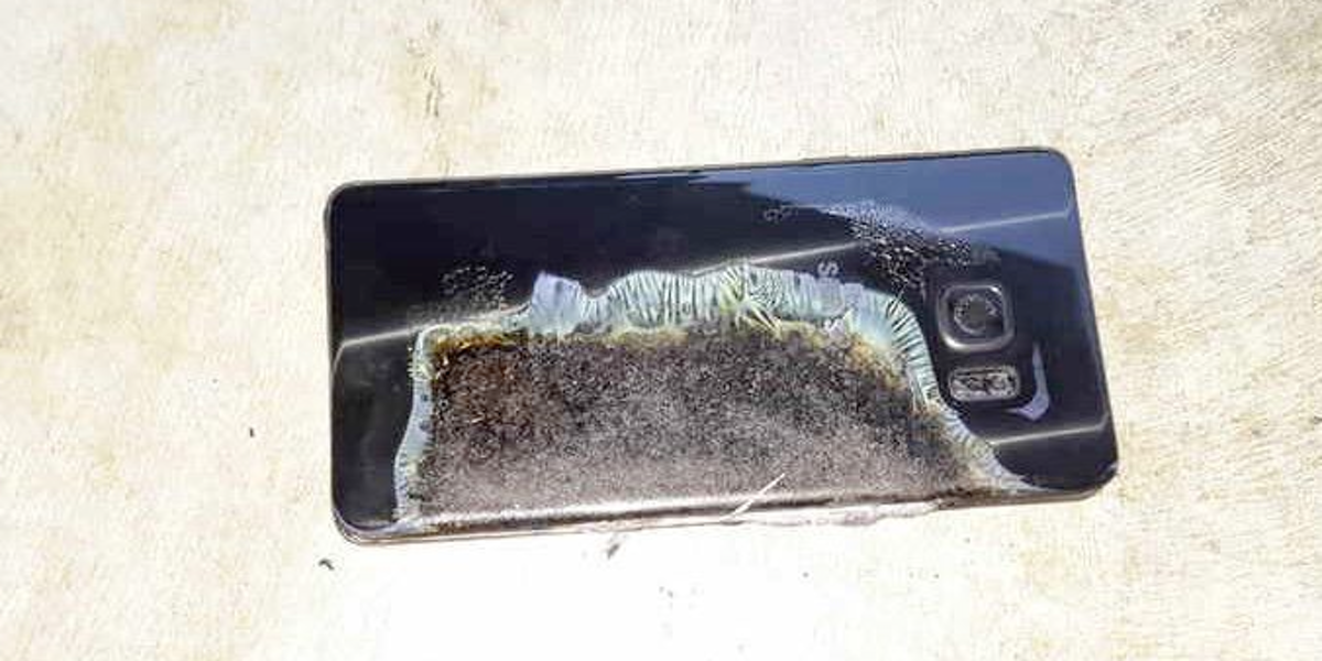 Samsung's Galaxy Note 7 Could Be Banned on Airplanes