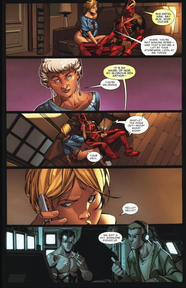 Deadpool Bea Arthur