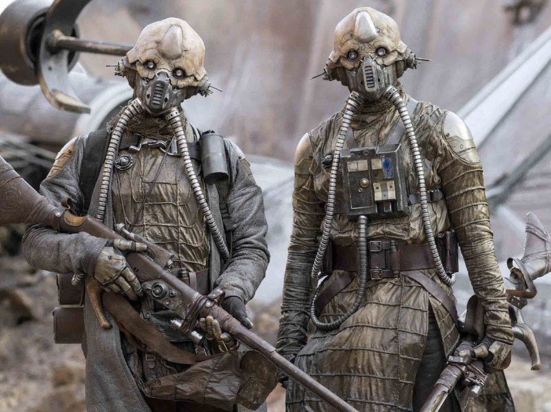 Edrio and Benthic Two Tubes from 'Rogue One'