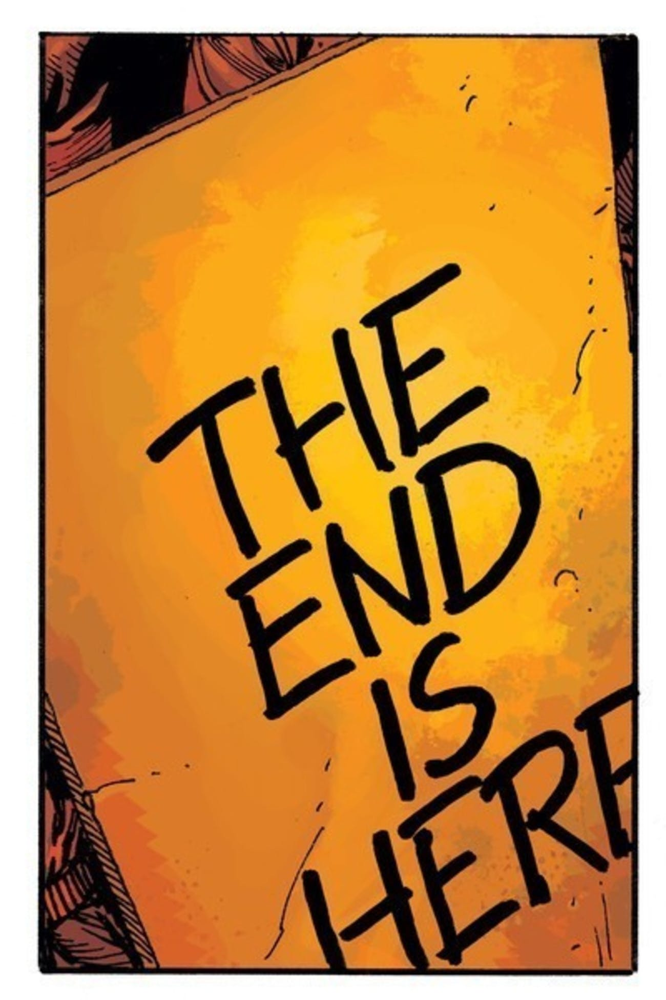 Watchmen The End Is Night Doomsday Clock