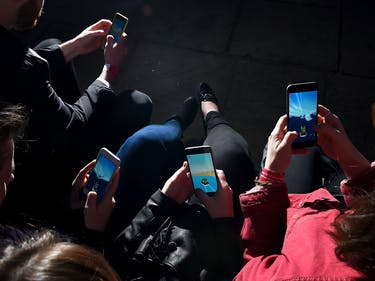 How Smartphones Advance the Ministry of Silly Walks Political Agenda