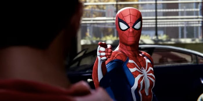 Spider-Man meets Miles Morales in 'Spider-Man' gameplay launch trailer.