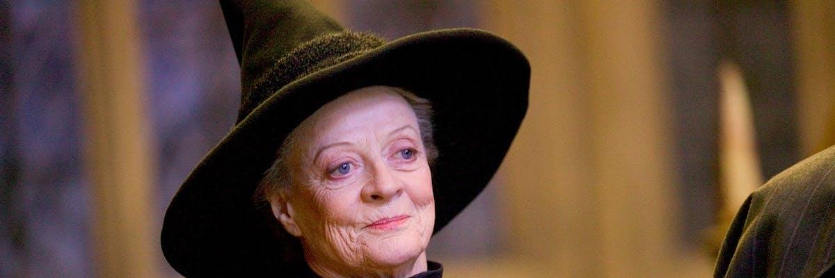 Minerva McGonagall in 'Harry Potter'
